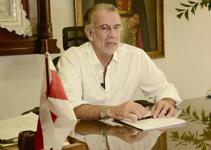 Mintransportes declarará este martes la caducidad del contrato con Navelena: gobernador Verano
