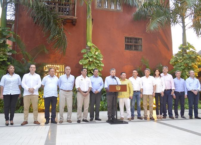 Gobernadores de la Costa  y Santos estudian defensa del Estado frente a Unión Fenosa y analizan reemplazo de Electricaribe