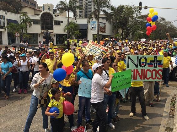 Este sábado Marcha mundial por el fin del régimen Maduro en Venezuela. En Colombia habrá plantones