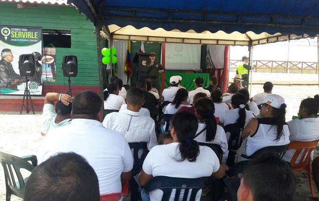 Inauguran nuevo Frente de Seguridad Turístico en Puerto Velero, Atlántico