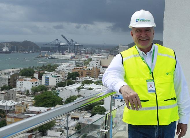 Domingo Chinea Barrera, nuevo presidente del Puerto de Santa Marta