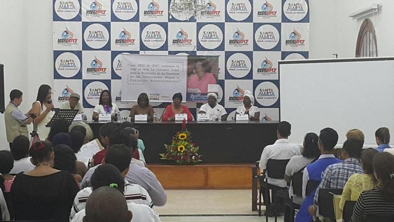 Congresista de MIRA llega a Santa Marta con dos objetivos: Mujeres libres de violencia y afrocolombianos con igualdad de oportunidades