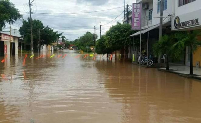 En La Dorada alertan a la comunidad, pero hoy amaneció bajo el agua por la tendencia a subir la cota del Magdalena