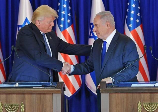trump-en-israel