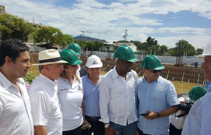 En Santa Marta, Uribe dijo estar de acuerdo con el tramite de adición presupuestal para terminar obras de los Bolivarianos