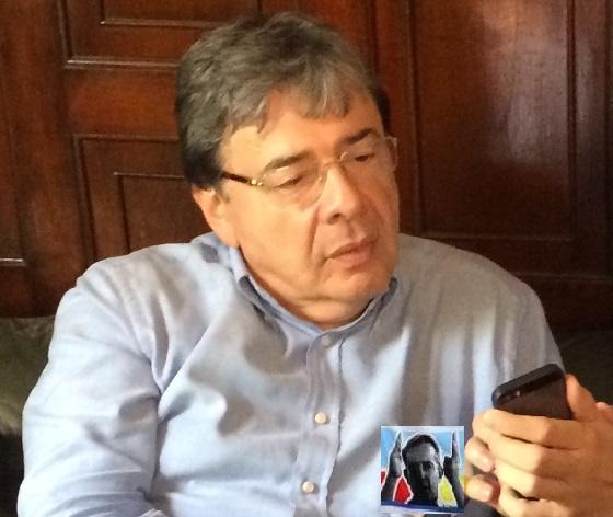Impulsaré la creación del fondo del agua: Carlos Holmes Trujillo