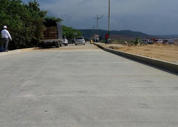 80 % de avance en obras de prolongación del Malecón de Puerto Colombia