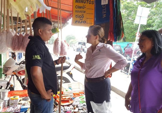María del Rosario Guerra, denunció inseguridad, baja calidad educativa y difícil acceso a vivienda en Córdoba