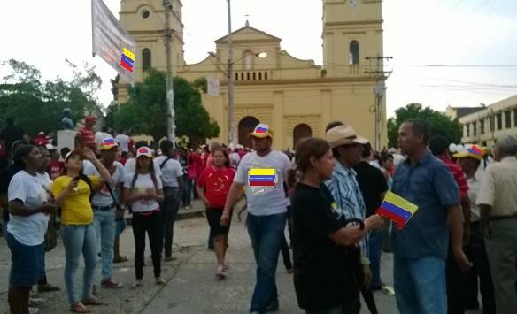 En Sabanalarga grupo significativo de ciudadanos de la Reserva Activa de la Fuerza Pública recoge firmas para inscribir a Ordóñez