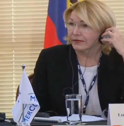Fiscal Luisa Ortega, regresó a Colombia en un vuelo comercial, tiene cita con el Fiscal Néstor Humberto Martínez