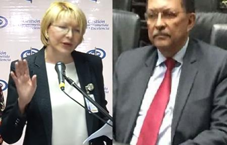 Luego de ser allanada su casa, la Fiscal de Venezuela, Luisa Ortega y su esposo el diputado Germán Ferrer, llegán a Colombia