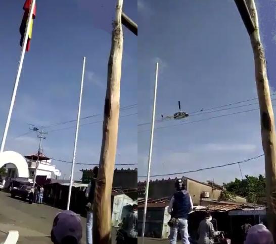 Helicópteros de la Guardia Bolivariana de Venezuela violaron el espacio aéreo colombiano en clara provocación