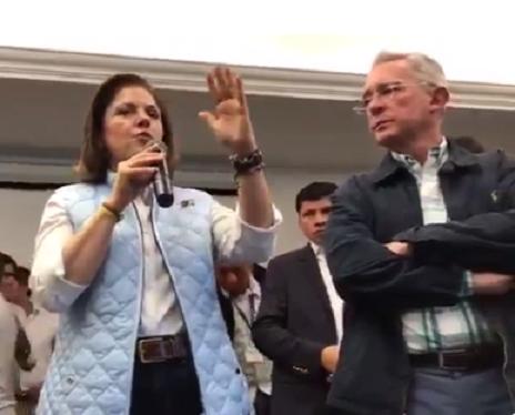 A qué partido o movimiento político se le permite tener dinero ilegal o estar armado?: María del Rosario Guerra