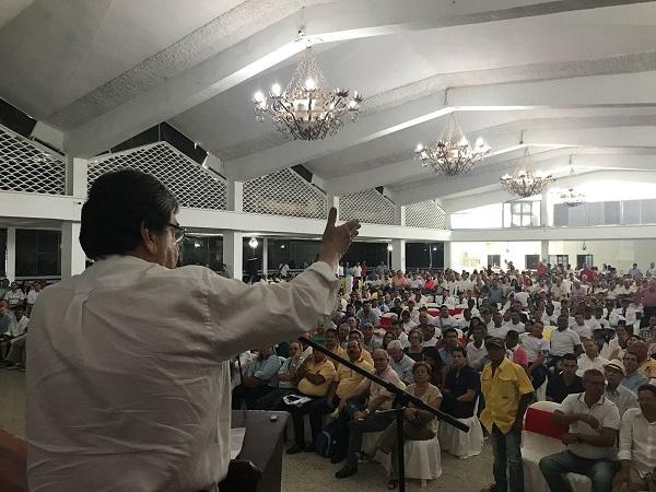 Carlos Holmes Trujillo presentó en Montería sus propuestas para la transformación productiva y agroindustria sostenible