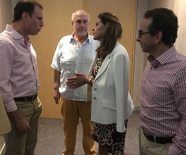 Marta Lucía Ramírez convoca a empresarios a retomar Pacto Por Colombia