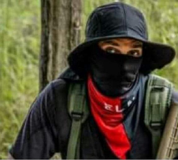 Alias Uriel del grupo terrorista ELN, confirmó la presencia de su militancia urbana en los actos terroristas contra los CAIs, e infraestructura de la Policía y contra los uniformados del ente Policial