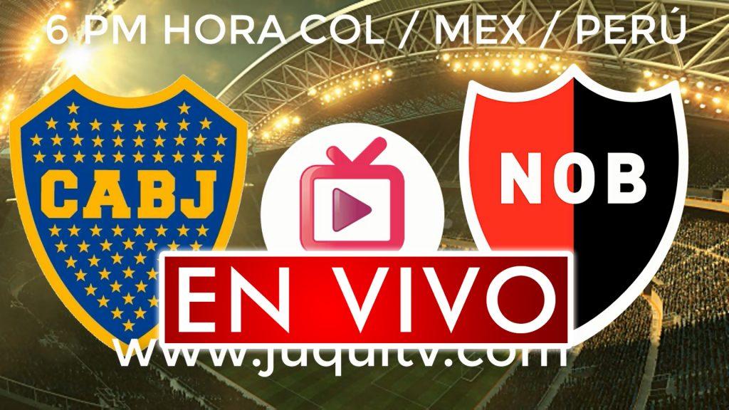 Boca Juniors vs Newells Old Boys En Vivo Online por Liga Argentina