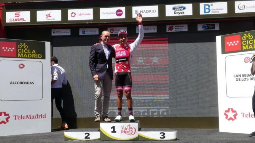 El Barranquillero Nelson Soto se gana la segunda etapa de la Vuelta Madrid