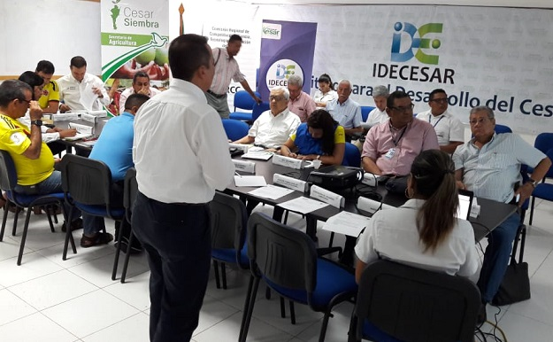 Consejo Seccional Agropecuario del Cesar, autorizó trámite para Plan Departamental de Extensión Agropecuaria