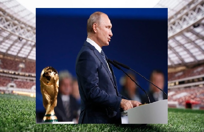 De una manera muy sobria Rusia inaugura en el Luzhniki el Mundial de Fútbol 2018