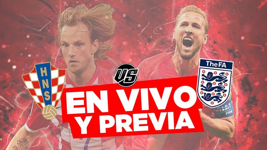 Croacia vs Inglaterra en Vivo Mundial 2018 por Semifinal Previa y Horarios en el Mundo