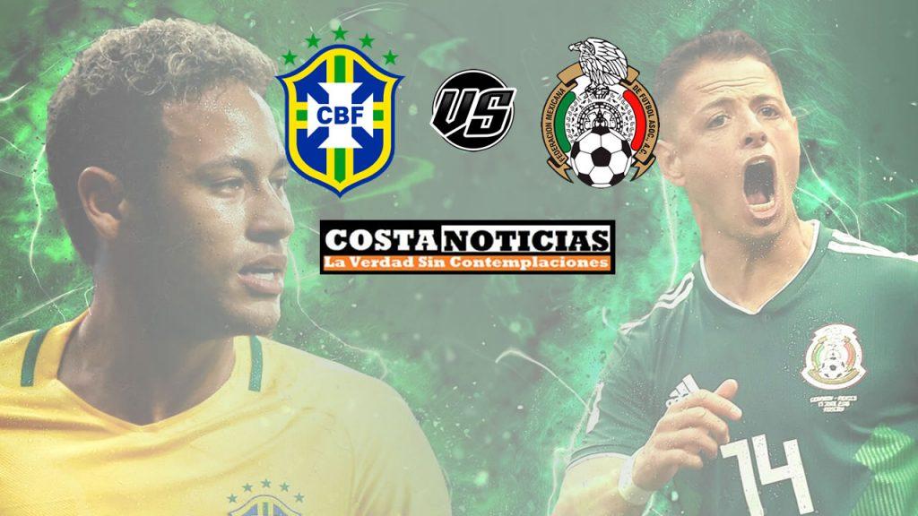 Brasil vs. México: Horario, formaciones y dónde ver el partido por octavos de la Copa Mundial 2018 Rusia