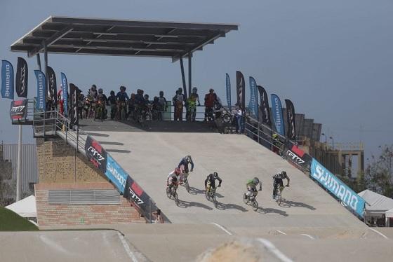 Alcalde inauguró la pista de BMX Daniel Barragán, para Barranquilla 2018