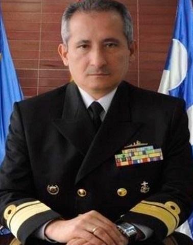 Comandante de la Armada Nacional, vicealmirante Evelio Enrique Ramírez Gafaro
