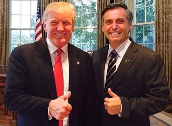 Trump designa a Brasil aliado militar estratégico de EEUU no perteneciente a la OTAN
