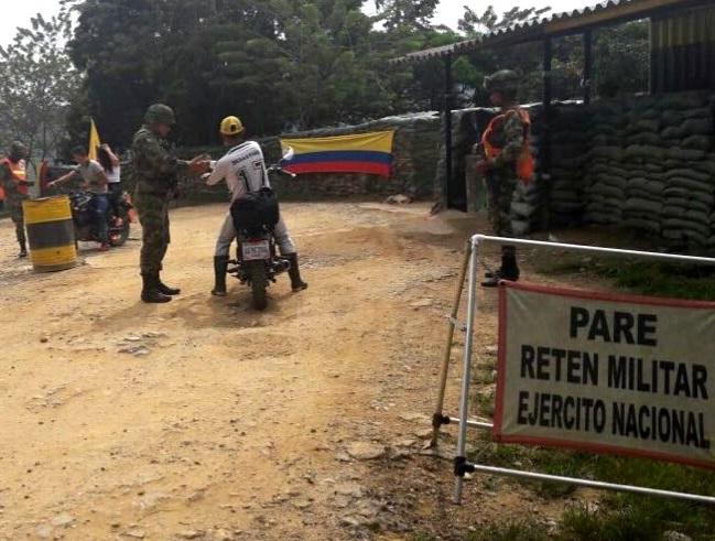 Versión del Ejército desvirtúa a la secretaria de la ASI: No habrían atendido la señal de pare en el puesto de control en Toledo, Norte de Santander