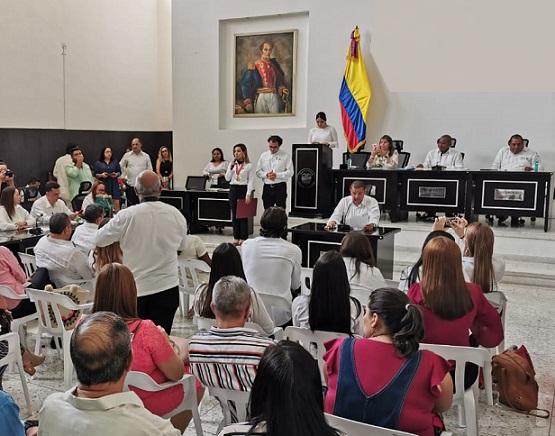 Once ordenanzas fueron aprobadas en el segundo periodo de sesiones ordinarias de la Asamblea del Atlántico