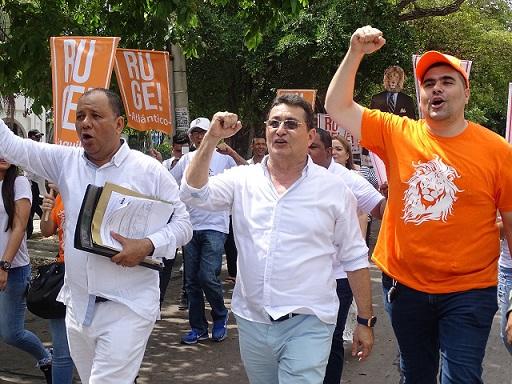 131 cristianos de Colombia Justa Libres han sido inscritos en el Atlántico. Carlos Dennis va por la Gobernación. También tienen lista cerrada para la Asamblea, Concejo y Jal