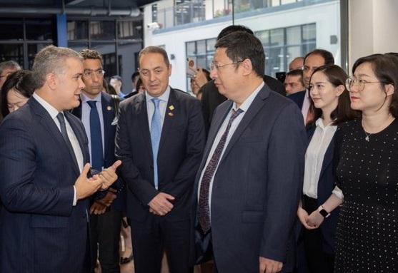 Apertura de la plataforma Baidu para Colombia permitirá a los chinos conocer la belleza de nuestro país y fortalecer el turismo: Presidente Duque