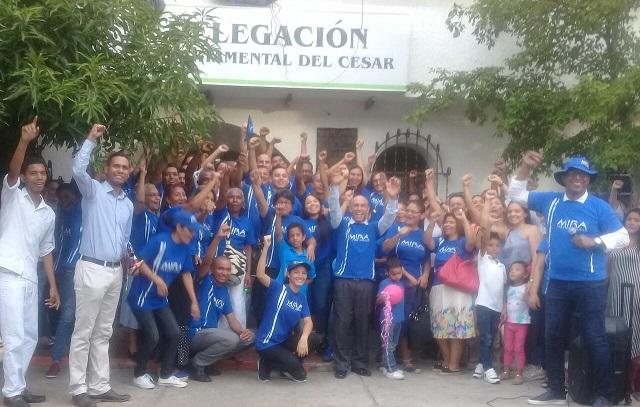 MIRA inscribe sus candidatos, lleva aspirantes en todas las ciudades y casi todos los municipios de la Costa