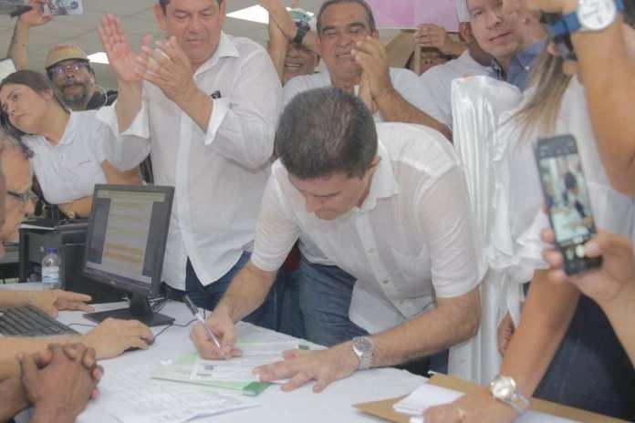 Rodolfo Ucros se inscribió a la Alcaldía de Soledad, por el Centro Democrático y con el apoyo de varios partidos