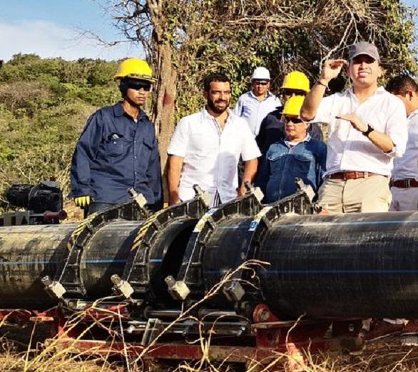 Inicia construcción del tanque de agua potable en Puerto Colombia. Garantizaría continuidad del servicio de acueducto