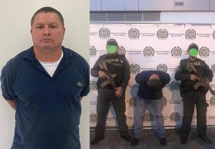Cayó alias Mono Clinton presunto cabecilla suplente de la Dirección Nacional del ELN, acusado del atentado al CAI San José