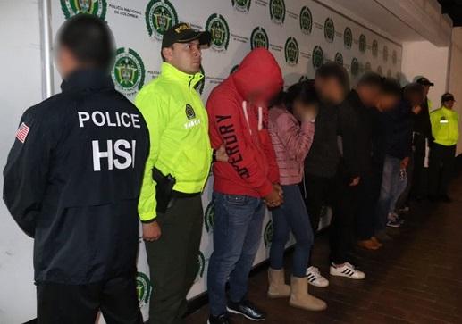 Aquí la lista de los 9 capturados junto con el empresario Salomón Korn Mitrani, alias Salo ex esposo de Carolina Acevedo, por presunto blanqueo de 10 millones de dólares