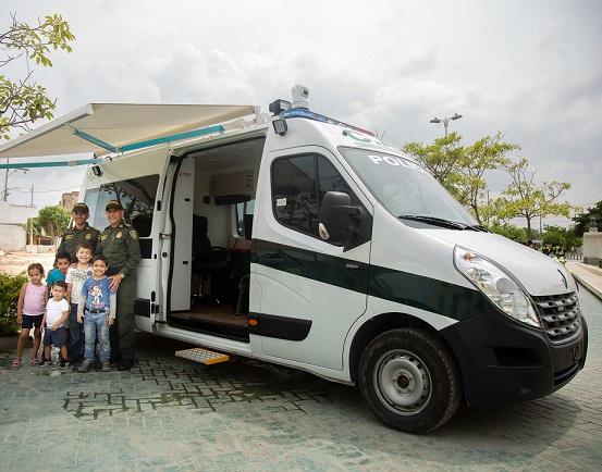 Nuevo CAI móvil en Soledad, y 200 motos para agilizar judicialización de delitos herramientas entregadas por la Gobernación