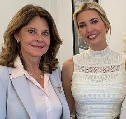 Ivanka Trump estará en Colombia tras aceptar la invitación de la Vicepresidente Marta Lucía Ramírez