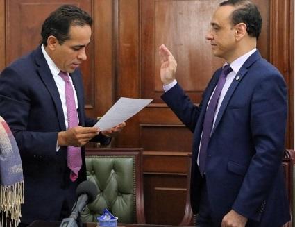 Senador Edgar Palacio Mizrahi nuevo Presidente de la Comisión de DDHH, y de la Comisión Accidental para la Infancia. Carlos Abraham Jiménez en la Comisión Cuarta y de Ética