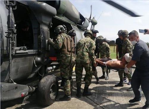 Capturado alias Diego y 5 miembros más del ELN en Tarazá, Antioquia. En Valdivia capturan a un explosivista del mismo grupo