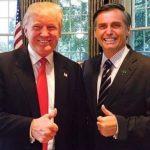 Trump ofrece ayuda a Bolsonaro: Estamos listos para ayudar! Bolsonaro trabajar juntos por una política ambiental que respete la soberanía de los países.