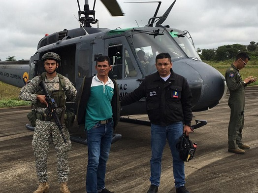 Capturan dos cabecillas disidente de las Farc, alias Ezequiel, y alias Neneco de la Red de Apoyo a las Estructuras Residuales