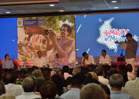 Ciénaga y el Caribe se convierten con el lanzamiento de la Ley Tic, en el epicentro de la conectividad digital en el País