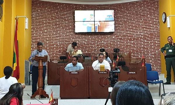 En audiencia pública en el Concejo del Distrito de Cartagena fue socializada la Reestructuración de la Alcaldía