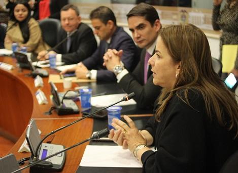 Martha Villalba, representante a la Cámara