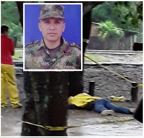 En Aguachica, sur del Cesar en plan pistola asesinan a un soldado escolta del comandante del Biter No 5