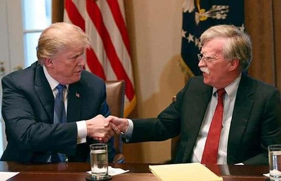 John Bolton fue impertinente, provocó tensiones con Corea del Norte. Aseguró Trump que sus puntos de vista sobre Venezuela y Cuba son mucho más fuertes que los del ex asesor