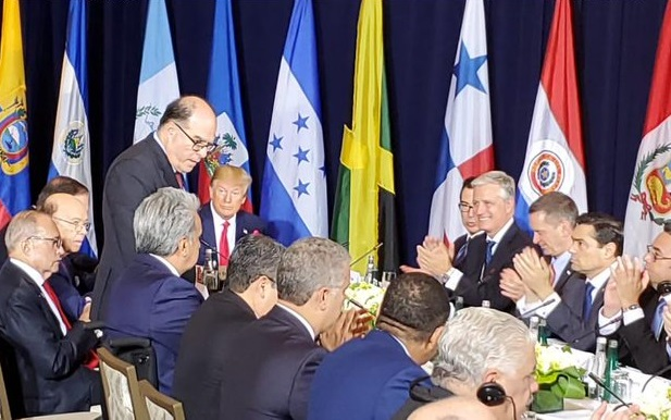 USA asegura que todos los mandatarios de la región están de acuerdo que es el momento de poner fin a la dictadura de Maduro y salvaguardar la democracia en la región